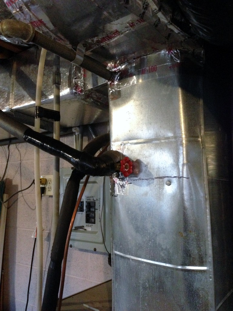 Air Handler Close Up