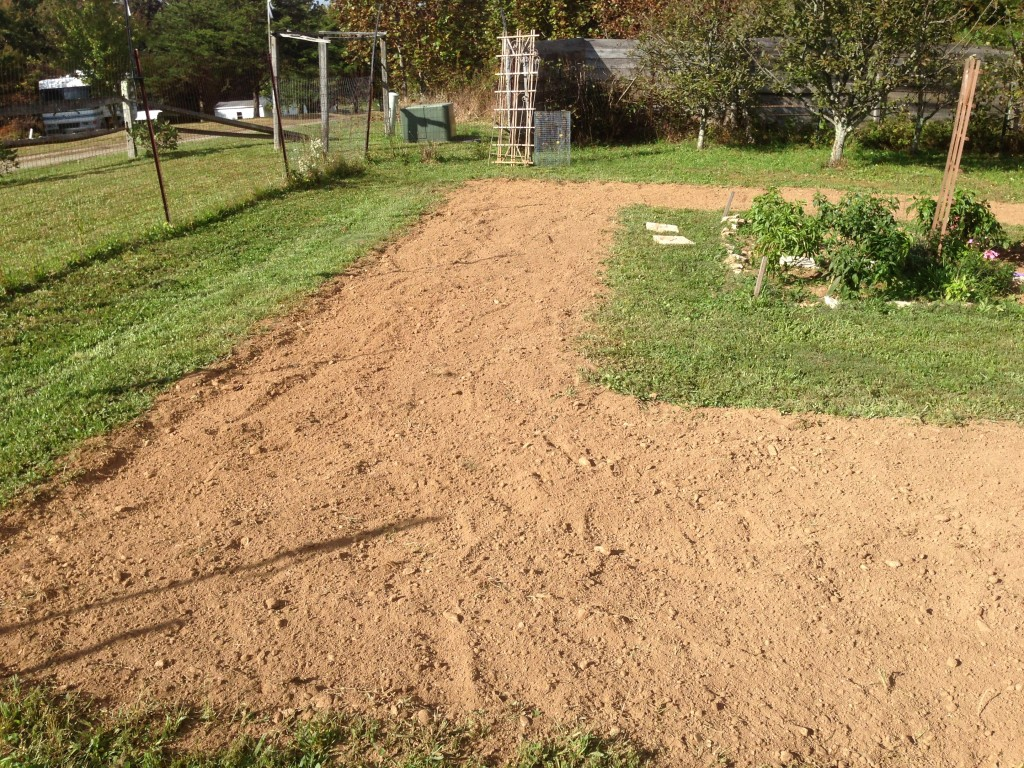 Finished Tilling