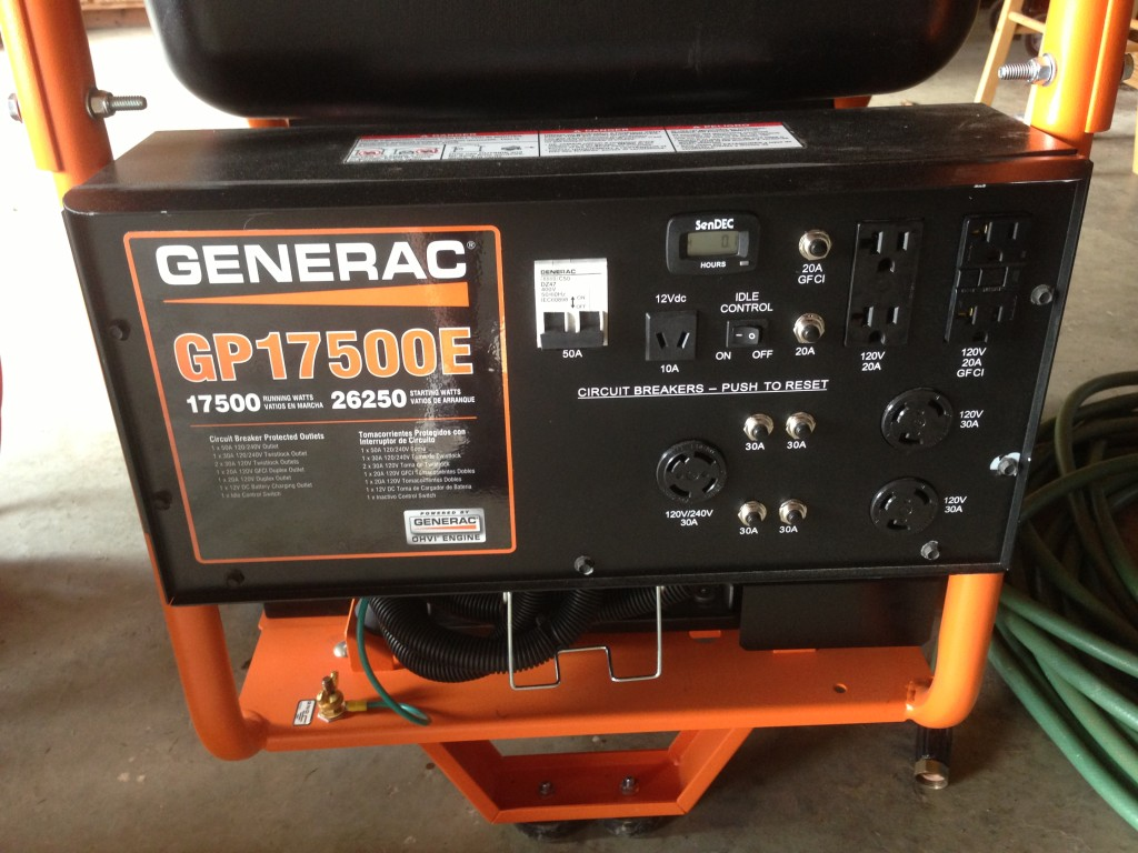 GenSet Close up
