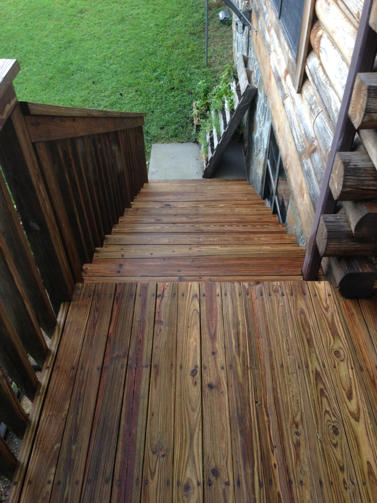 South Stairs After