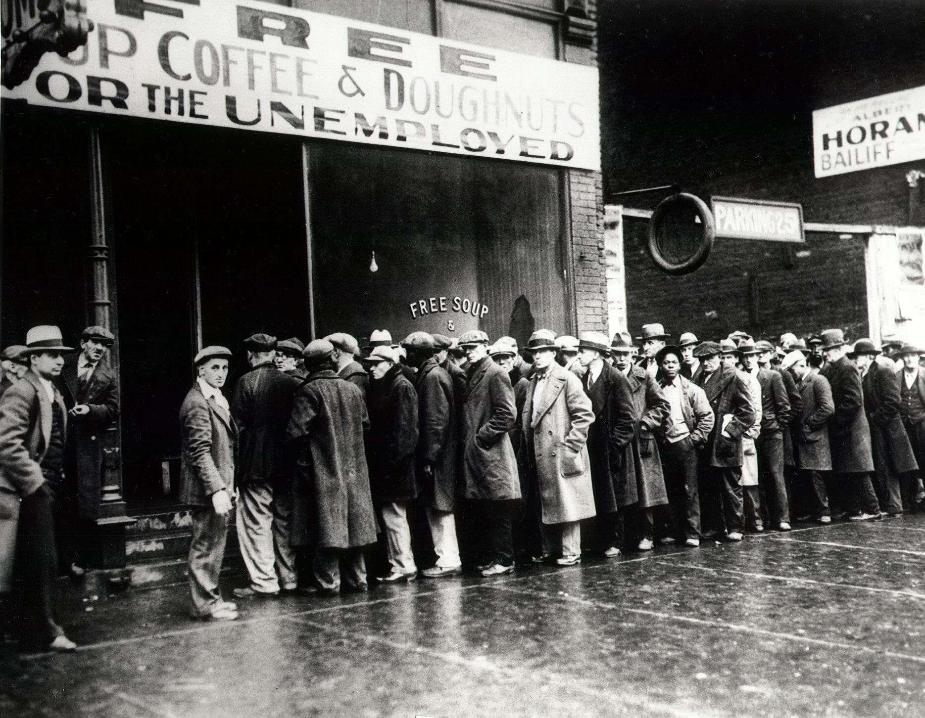 Stock brokers during the great depression