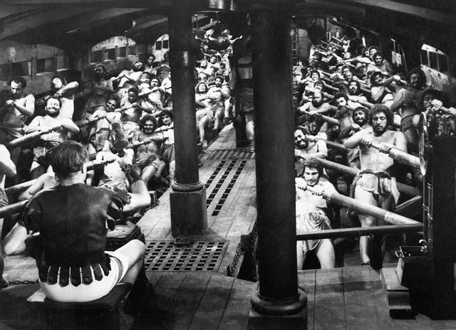 Actors as Galley Slaves in