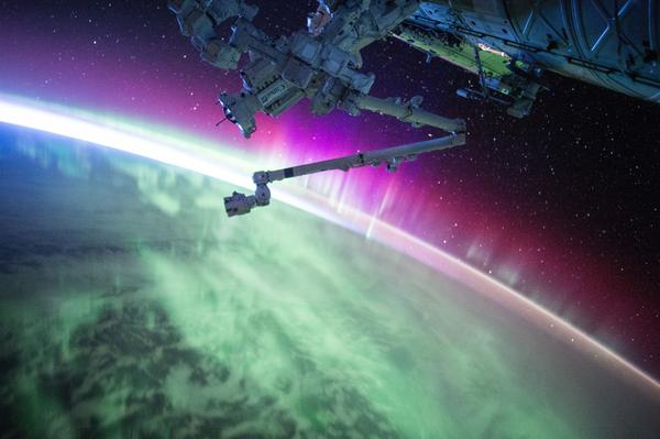 aurora-from-space-station